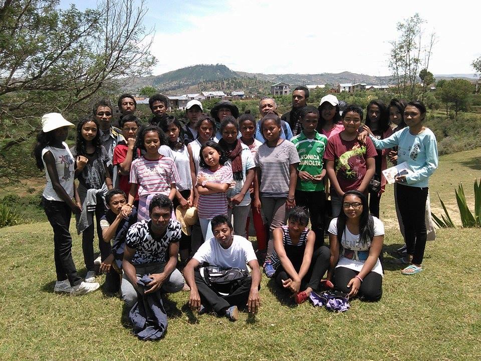 Le groupe de jeunes de la CEIM d'Antsirabe